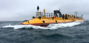Orbital Marine Power testing the SR2000 at EMEC tidal test site (Credit Orbital Marine Power)