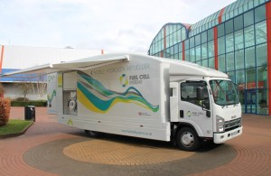Mobile Hydrogen Refueller HyTruck from Fuel Cell Systems (Credit FCSL)