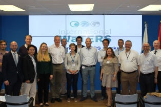 Group shot at 4th International WaTERS workshop.