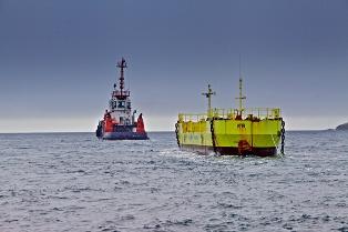 Magallanes Renovables ATIR installation (Copyright Colin Keldie, Courtesy Ocean_2G)