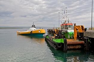 Wello WEC2 arrival in Orkney (Credit Colin Keldie)