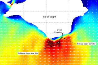 PTEC tidal flows