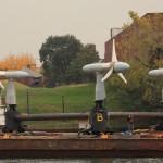 Verdant Power RITE project deployment, Oct 2020 (Credit Verdant Power)