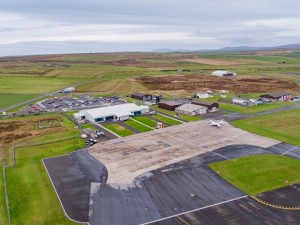 Kirkwall Airport operated by HIAL (credit HIAL)