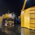 Mocean Blue X arrives at Forth Ports Rosyth (Credit Mocean Energy)
