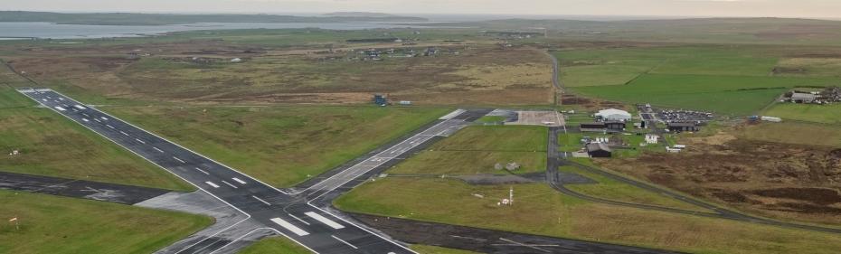 Kirkwall Airport (Credit HIAL) 930