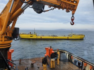 ATIR installation at EMEC Fall of Warness test site (Credit Magallanes Renovables)