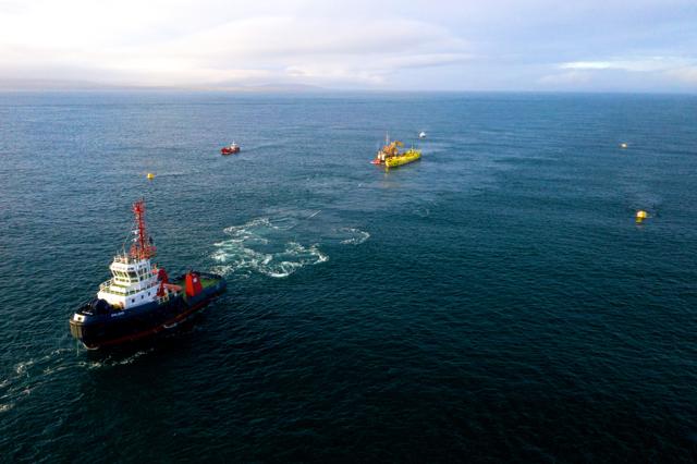 Magallanes Renovables ATIR installation at EMEC (Copyright Colin Keldie)