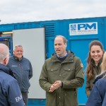 Duke and Duchess at EMEC hydrogen fuel cell (Credit Colin Keldie)