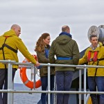 Duke and Duchess on board the Orkney O2 tidal turbine (Credit Colin Keldie)