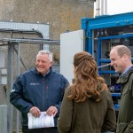 Duke and Duchess with John Skuse and Dave Wakefield at EMEC hydrogen fuel cell (Credit Colin Keldie)