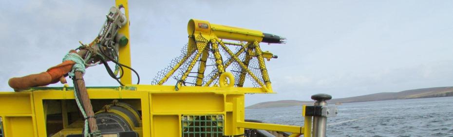 EMEC Integrated Monitoring Pod with Rockland MicroRider (Credit EMEC)