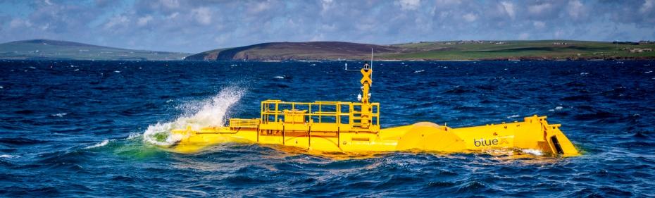 Mocean Blue X at EMEC Scapa Flow test site (Credit Colin Keldie)