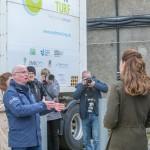 Neil Kermode providing an overview of EMEC green hydrogen projects (Credit Colin Keldie)