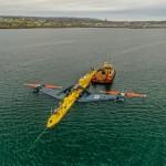 Orbital Marine Power O2 tidal turbine in Kirkwall Bay (Credit Colin Keldie)