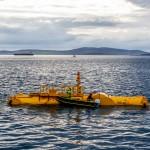 Mocean Energy deploy Blue X at EMEC Scapa Flow wave energy test site (Credit Colin Keldie) 134