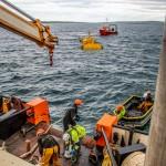 Mocean Energy deploy Blue X at EMEC Scapa Flow wave energy test site (Credit Colin Keldie) 46