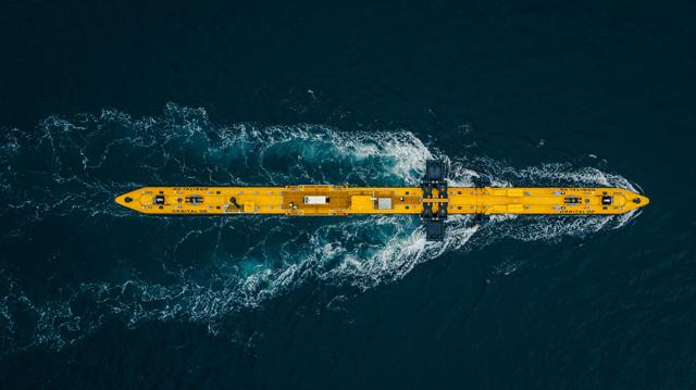 Forward 2030 - Orbital O2 tidal turbine demonstrating at EMEC tidal test site in Orkney