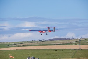 Windracers ULTRA flight trials to North Ronaldsay  (Credit Colin Keldie, Courtesy of SATE)